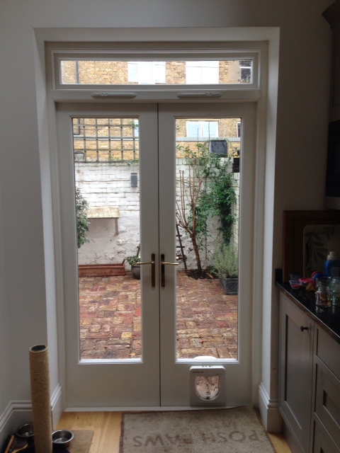 Windsor Carpentry Joinery French Doors With Cat Flap Windsor